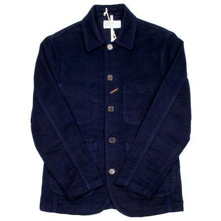 Universal Works Bakers Jacket Moleskin - Navy