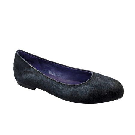 NOAH WAXMAN Ballet Flat - Slate