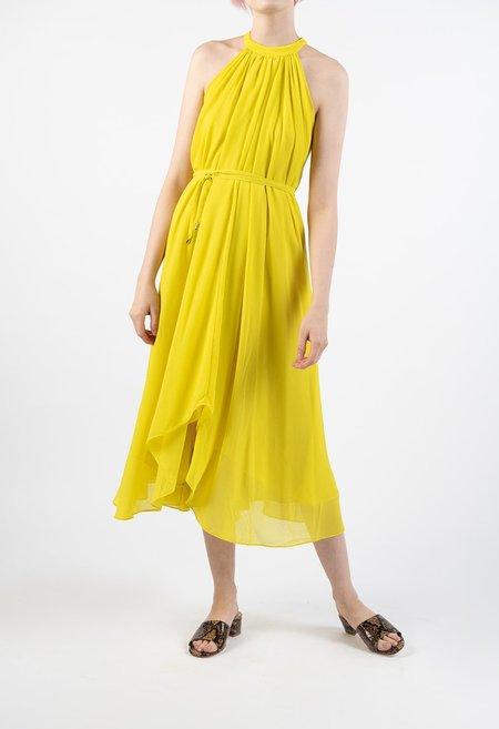 Saloni Iris Dress - LEMON