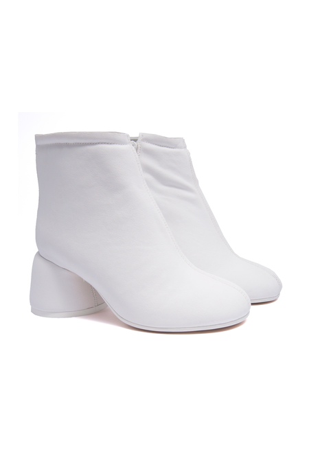 MM6 Padded Boot - White