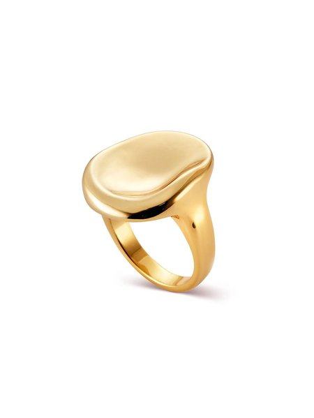 Gold Mithras Ring - Gold