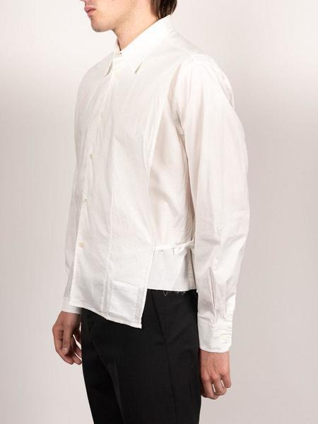 Our Legacy Bib Shirt - White Poplin