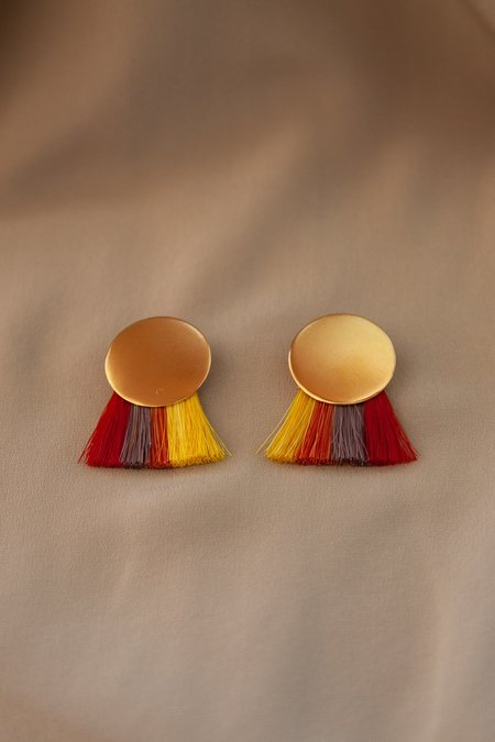 Anna Monet Iris Earrings - Multicolored