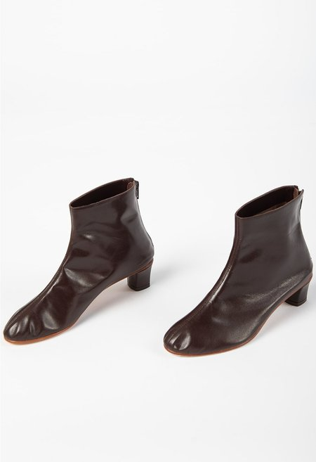 Martiniano High Leone Ankle Boot - Dark Umber