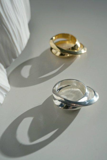 MM Druck Deux Ring - Silver