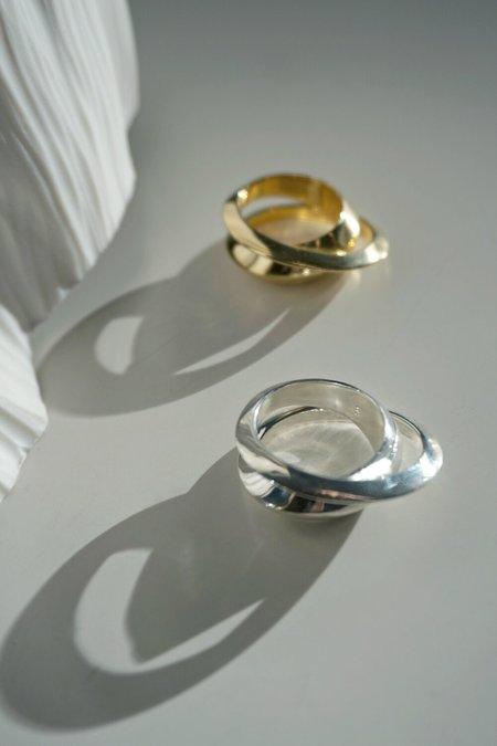 MM Druck Deux Ring - Gold