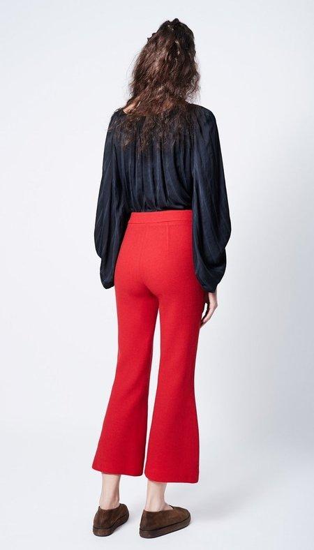 Vintage SMYTHE Cropped Kick Pant - Red