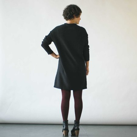 Erdaine Vera Dress - Charcoal