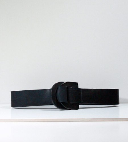 Actually Existing DD leather belt - Black