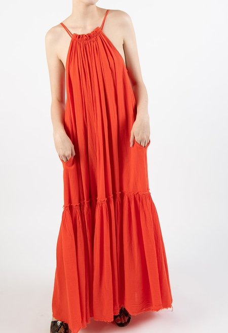 Devotion Dion Maxi Dress - orange