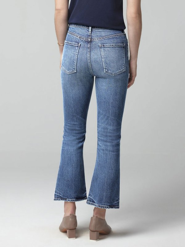outlet online elegant and graceful sale usa online Citizens of Humanity Demy Cropped Flare Jeans - Moments