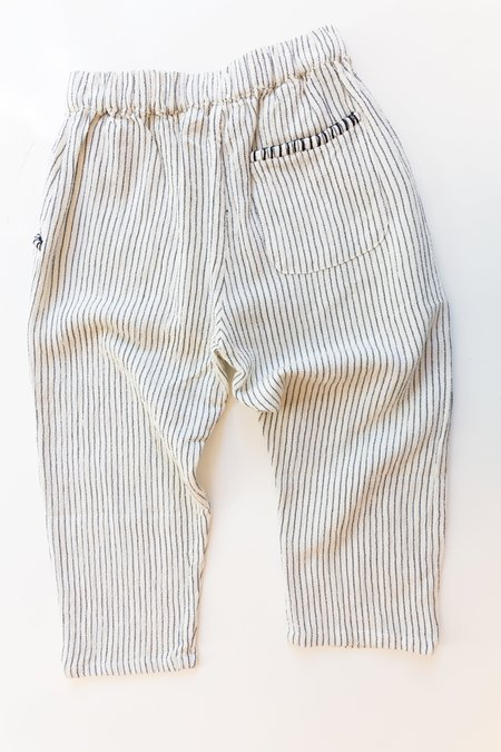 Kids Sun Child Natural Stripped Trousers