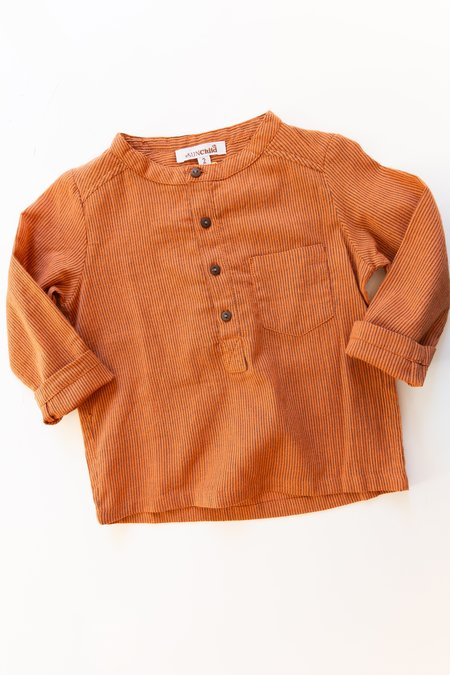 Kids Sun Child Striped Long Sleeve Henley