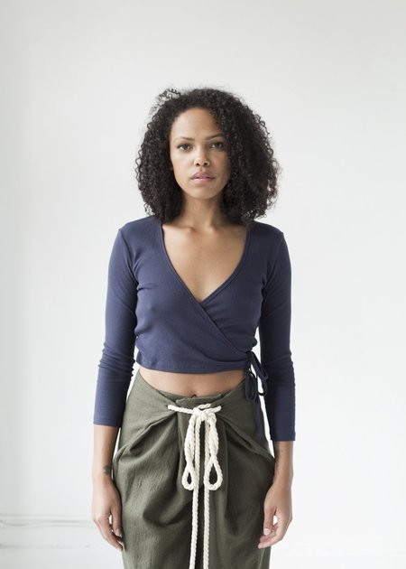 Lisa Says Gah Lucille Top - Navy