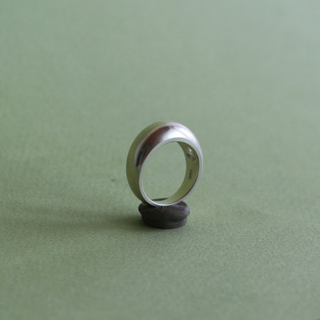Noon Jewellery big bubble ring - silver