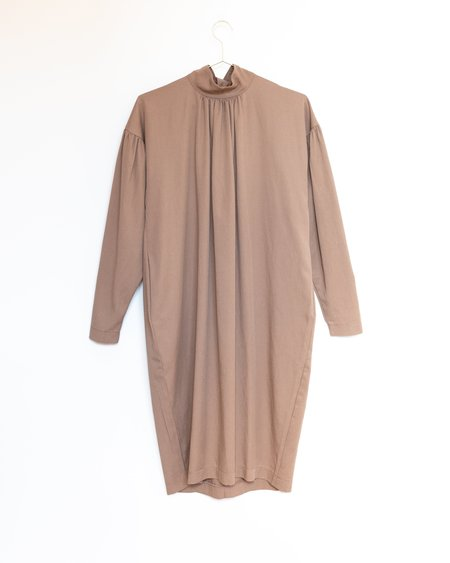 Black Crane Walnut Dress - Camel