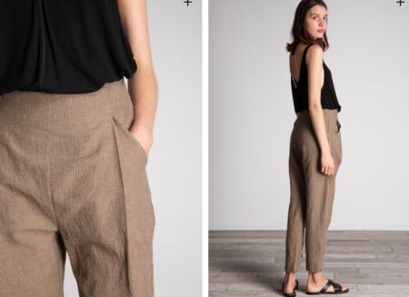 Grade & Gather Linen Blend Pant