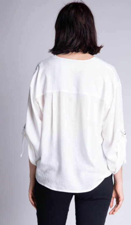 Grade & Gather Roll Up Sleeve Blouse
