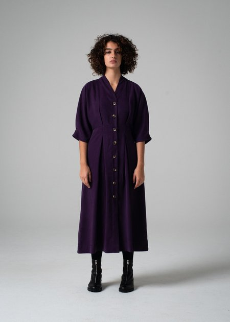 REIFhaus Emi Dress - Aubergine