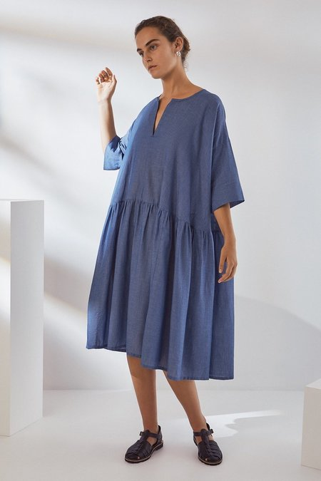 Kowtow Sketchbook Dress - Light Chambray