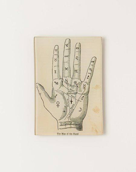 John Derian Map of the Hand Mini Tray