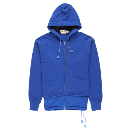 Marni Zip Sweatshirt - Royal Blue