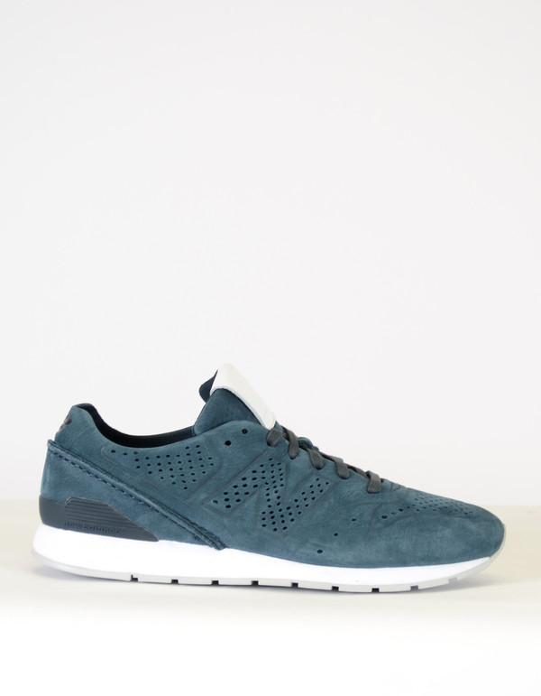 reputable site a867a 7337d Men's New Balance 996 Reengineered Sneaker Navy on Garmentory