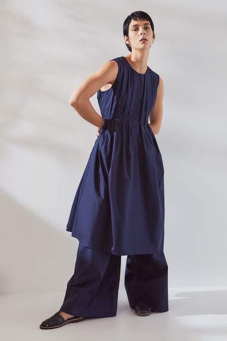 Kowtow Line Dress - navy