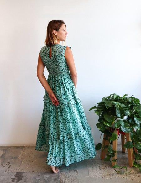 Banjanan Iris Dress - Sea Green