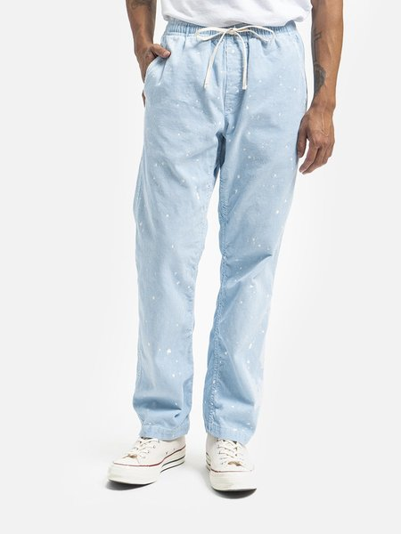 GENERAL ADMISSION Rat Rock Washed Cord Pant - Blue Splatter