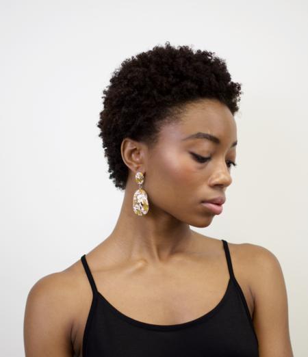Machete grande drop earrings