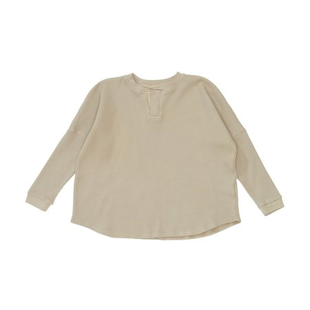 Kids Bacabuche Thermal Henley - Fawn