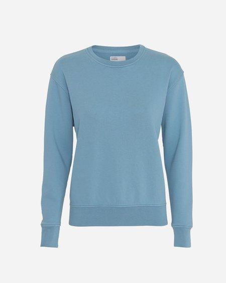 Colorful Standard Crew Neck Sweatshirt - Stone Blue