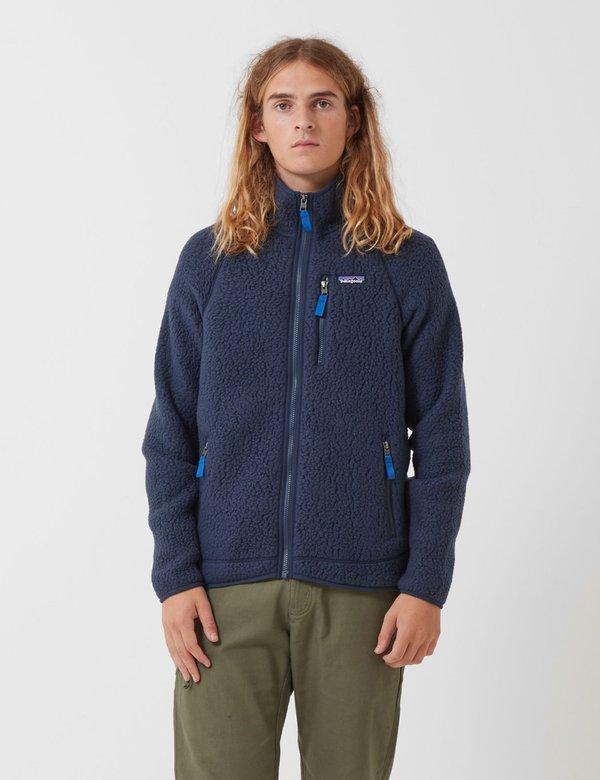 get cheap good service temperament shoes Patagonia Retro Pile Jacket - New Navy Blue | Garmentory