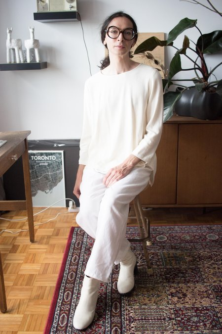 Amanda Moss Neala Top - Ivory