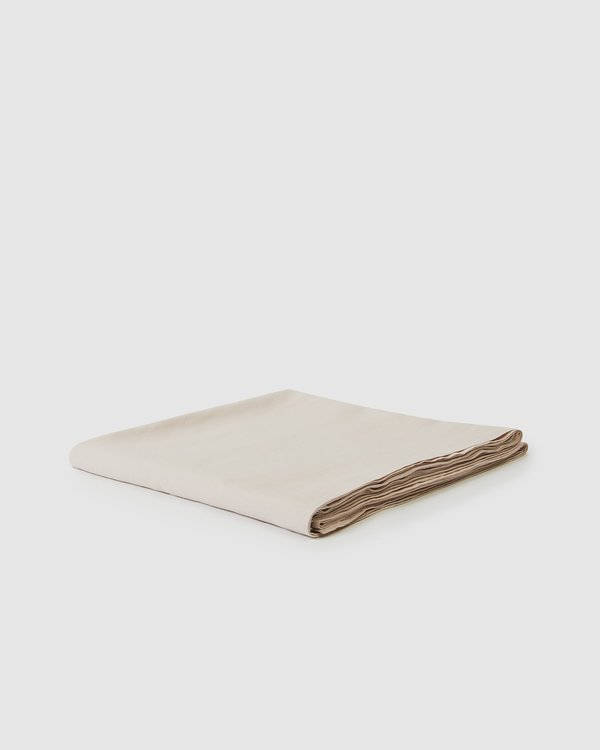 Sunday Morning Babette Linen Tablecloth - Blush