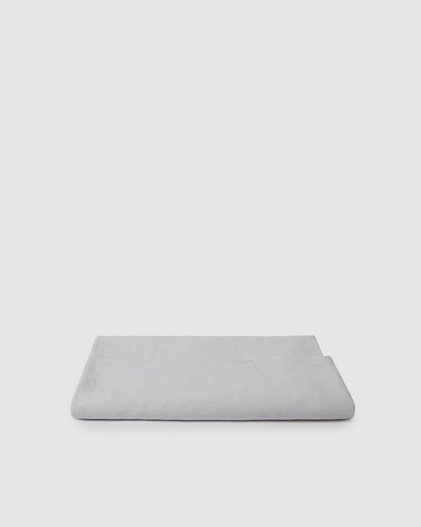 Shop Sunday Morning Marcel Linen Duvet Cover - Glacier