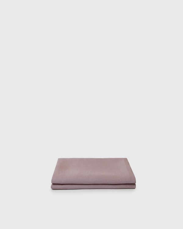 Shop Sunday Morning Marcel Linen Fitted Sheet - Orchid