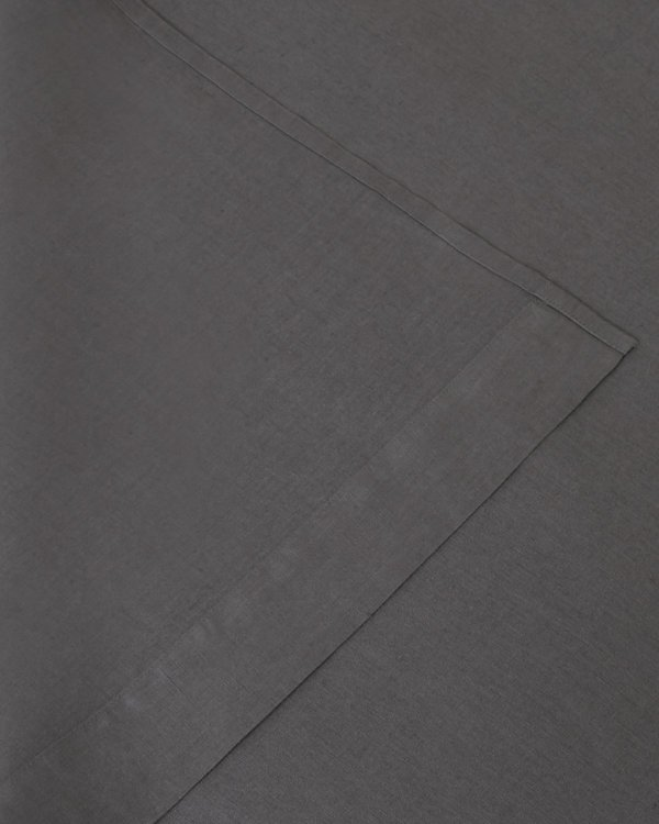Shop Sunday Morning Marcel Linen Fitted Sheet - Storm