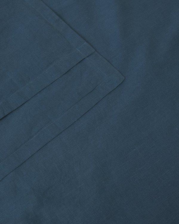 Shop Sunday Morning Marcel Linen Pair Pillowcases - Adriatic
