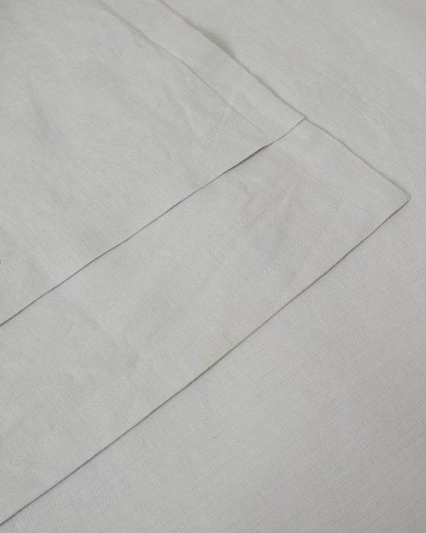 Shop Sunday Morning Marcel Linen Pair Pillowcases - Glacier