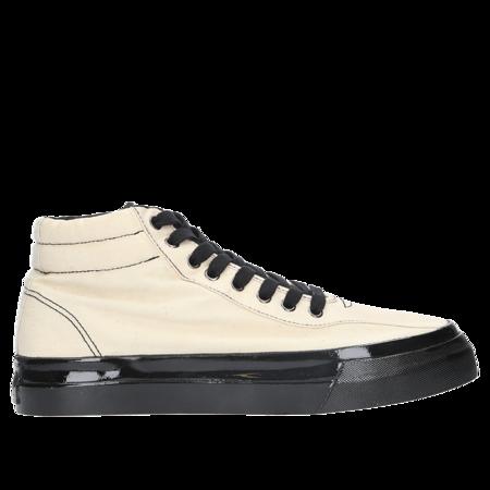 S.W.C. Varden Canvas Sneakers - Ecru/Black