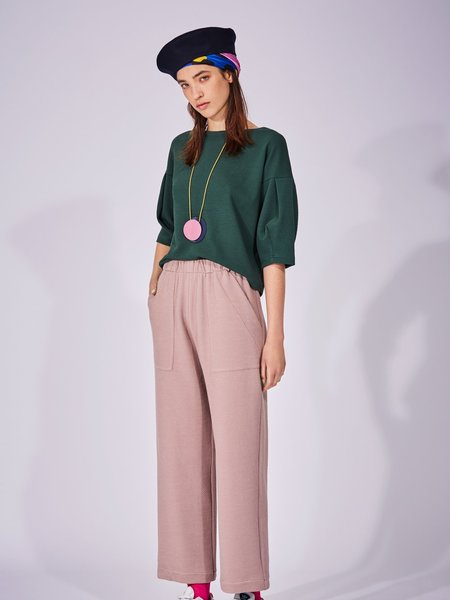 Eve Gravel Kano Pants - Lilac