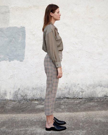 Esby Noelle Pant - Brown Vintage Check