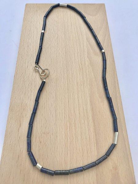 RACHEL GUNNARD Mineral Beaded Necklace Lapis