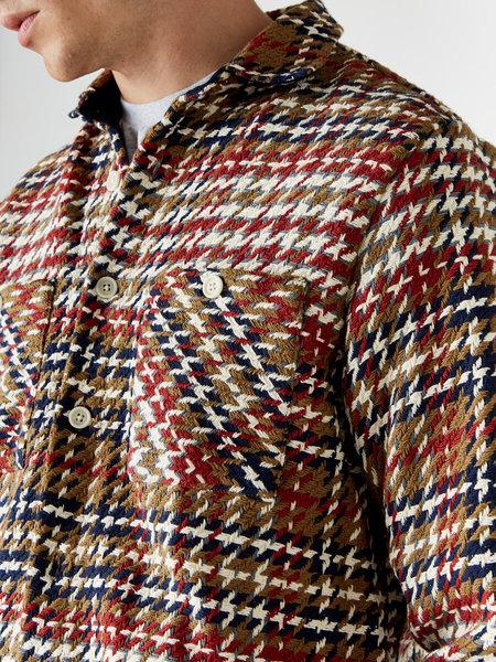 Wax London Whiting Shirt - Mustard Beatnik