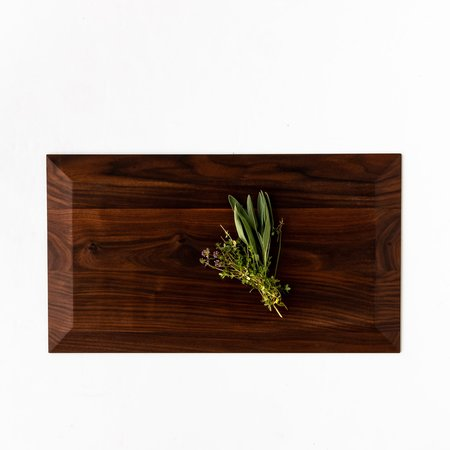 A Hauteur d'homme Herman Extra Large Black Walnut Cutting & Serving Board