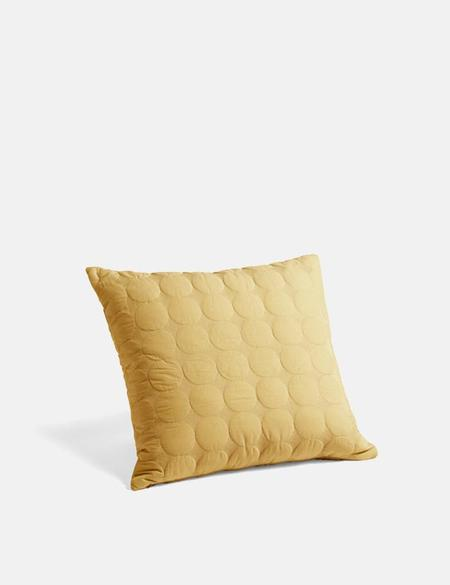 Hay Mega Dot Cushion - Mustard