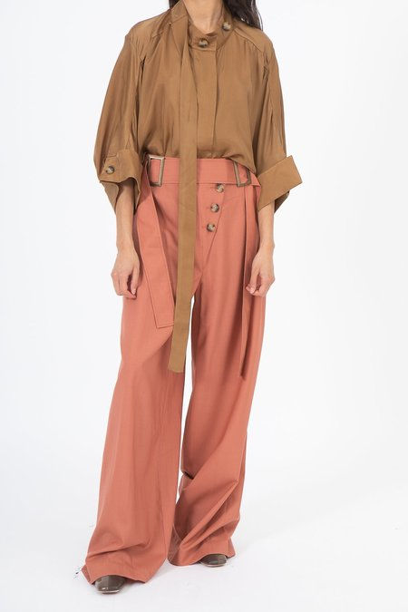 Rejina Pyo Stevie Trousers - Dusty Coral