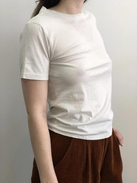By Signe Lale Crewneck Tee - Stone